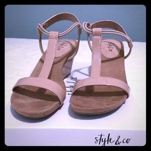 Ladies wedges sandals